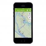GPS-gestützte Karte