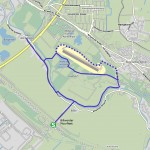 Routenverlauf Tour Boberger Dünen