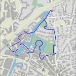 Routenverlauf Bergedorfer Spaziergang