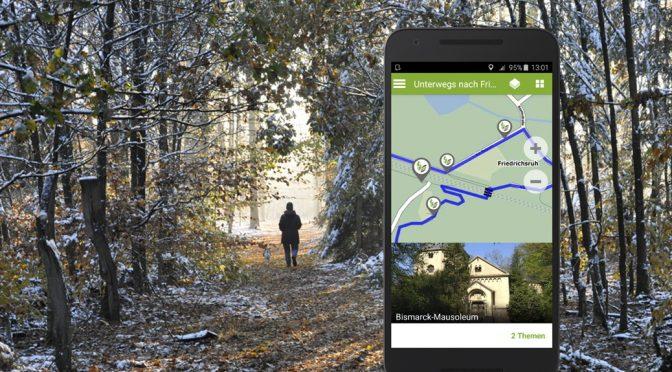 EntdeckerRouten-App: Update Herbst 2016