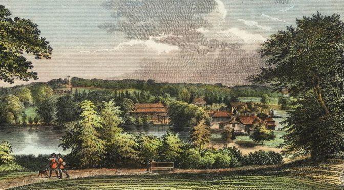 Wilhelm Heuer: Fabrik im Sachsenwalde (um 1680)