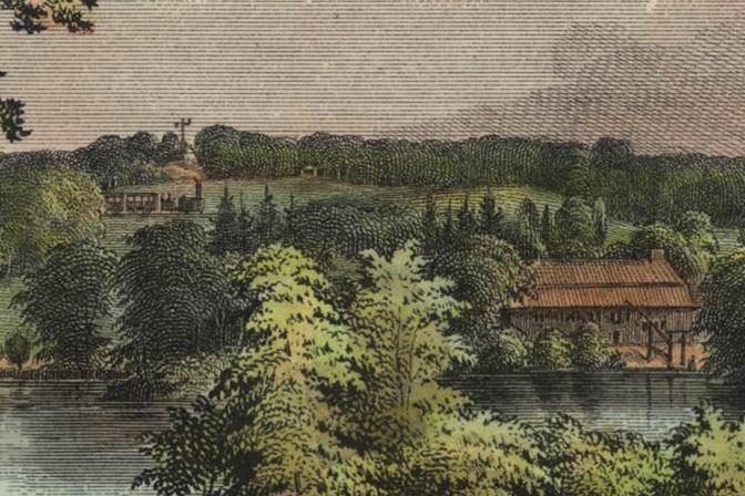 Fabrik im Sachsenwalde