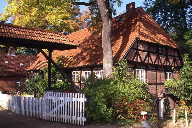 Das alte Brauhaus in Friedrichsruh.