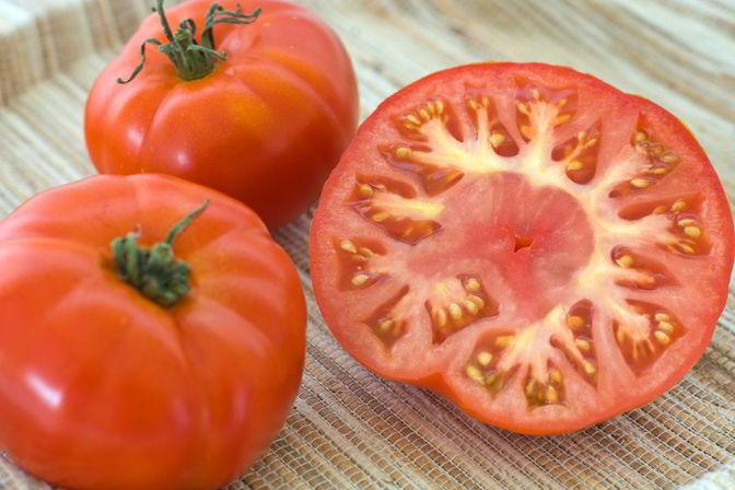 Bio-Tomate Vierländer Platte