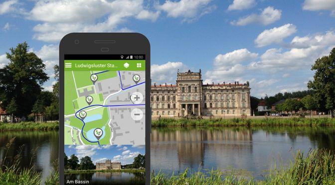 EntdeckerRouten-App mit der Ludwigsluster Stadttour