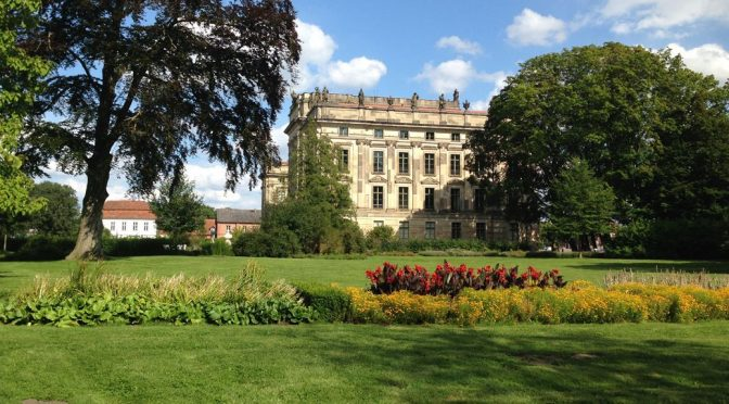 Region Ludwigslust: Blick auf das Ludwigsluster Schloss