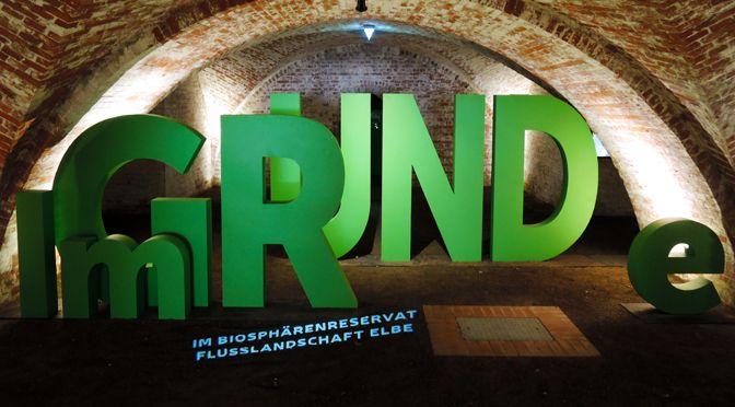 """Ausstellung """"IM GRUNDE"""" in den sanierten Kasematten der Bastion Greif."""